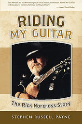 Cover of Riding My Guitar by Stephen Russell Payne